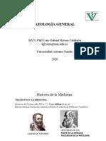 Patología Historia