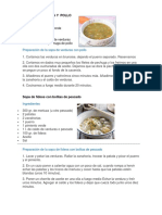 5 RECETAS DE COCINA NUTRITIVAS