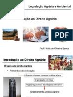 1_Direito Agrario_ParteI