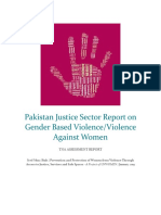 Pakistan Justice Sector Report on GBV January 2019 by Syed Muaz Shah.pdf