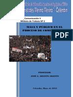 MÓDULO II - MASA Y PÚBLICO