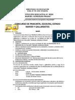 BASES CONCURSO ESCOLTA 2019