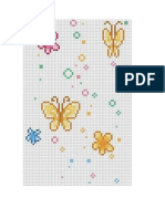 mariposas punto de cruz