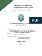COSTO DE INVERSION, COSTO DE PRODUCCION, COSTO DE MANYTENIMIENTO