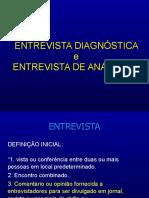 Entrevista psicologica x Anamnese