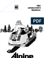 1982 Bombardier Alpine Operator's Manual