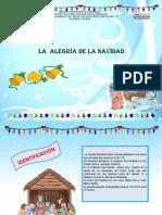 Proyecto Aprendizaje 1er. Grado la alegria en la navidad