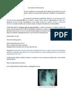 Caso clinico tuberculosis