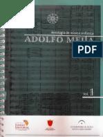 Luis Carlos Rodríguez - ADOLFO MEJIA, Antologia de musica sinfonica - Textos