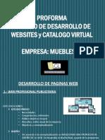 PROFORMA CREACION WEBSITE Y CATALOGO _GLMUEBLES