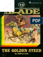 Blade 13 - The Golden Steed - Jeffrey Lord