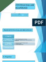 8. PRODUKTIVITAS DALAM ORGANISASI fix-1