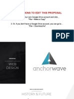 Web Design Proposal 2019