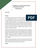 ICTUS ISQUEMICO CEREBRAL Y SU RELACION CON HALLAZGOS ECOCARIOGRAFICOS POR VIA