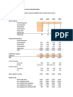 Simple, Comprehensive Bookings Model