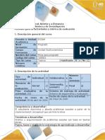 Guía de actividades y rúbrica de evaluación - Tarea 3 - Plantear problema ético - estudio de caso general