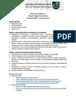 UBA 2019 2C - Derecho Informático 1 - Programa