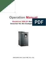 Goodrive 300_01 Series Inverter for Air Compressor Operation Manual_V2.1
