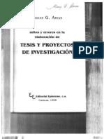 6Mitos y errores en la elaboración de tesis y proyectos