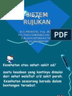 sistem rujukan