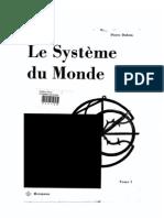 Duhem. Le Système du Monde, T.1 (Hermann, 1988, 522p)
