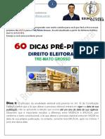 60 dicas TRE_Mato Grosso