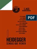 AA.VV. - Heidegger, las sendasa que vienen [2008]