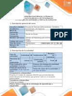 Guía de actividades y rúbrica de evaluación – Paso 7 – Evaluación final