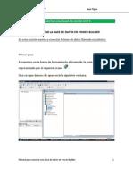 Conectar Una Base de Datos en Pb