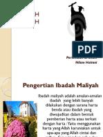 P 6 IBADAH MALIAH
