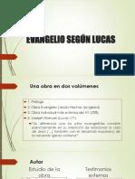 El Evangelio de Lucas I 2019