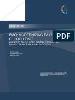 BMO Modernizing Payments in Record Time Celent Case Study
