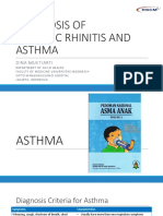 Panel Discussion, Diagnosis Allergic Rhinitis and Asthma