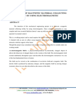 FABRICATION OF MAGTNETIC MATERIAL COLLECTING TROLLY BY USING ELECTROMAGNETI.pdf