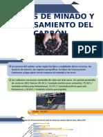 COSTOS DE MINADO Y PROCESAMIENTO DEL CARBÓN