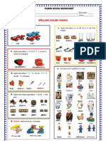 Plural Nouns Worksheet p37
