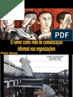 Rumor na comunicação organizacional