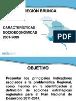 Indicadores PND 2011 2014 Region Brunca Presentacion