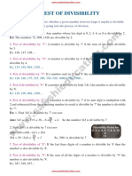 Test_of_Divisibility