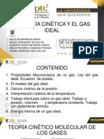 TEORIA CINETICA Y GAS IDEAL