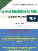 Servicos Mineiros II Aula 3 2019