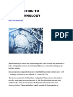 INTRODUCTION TO NANOTECHNOLOGY.docx