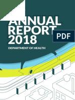 DOH 2018 Annual Report - Full Report