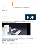 Como importar arquivo MDF para o Microsoft Access - CodeProject