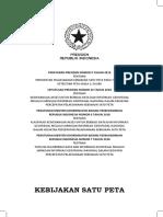 Kompilasi Regulasi Kebijakan Satu Peta.pdf