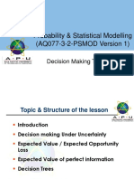 PSMOD_Decision making techniques