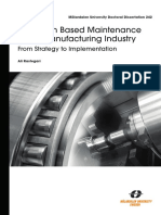CONDITION BASED MAINTENANCE IN THE MANUFACTURING INDUSTRY