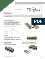 Dumbell Press for Sample Cutter