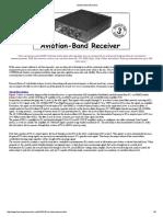 Aviation Band Receiver