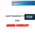 SDES CONTINGENCY PLAN ARMED CONFLICT